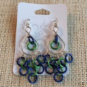 Fan friendly earrings